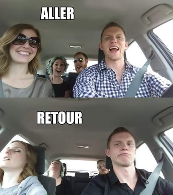 Faut pas être conducteur - meme