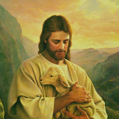 cristo y la cabra, de donde salio la cabara XD o es obeja - meme