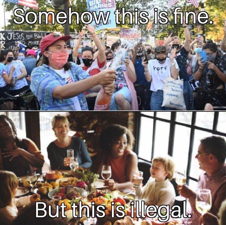 Imagine being a liberal - meme