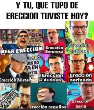 Ereccion seria - meme
