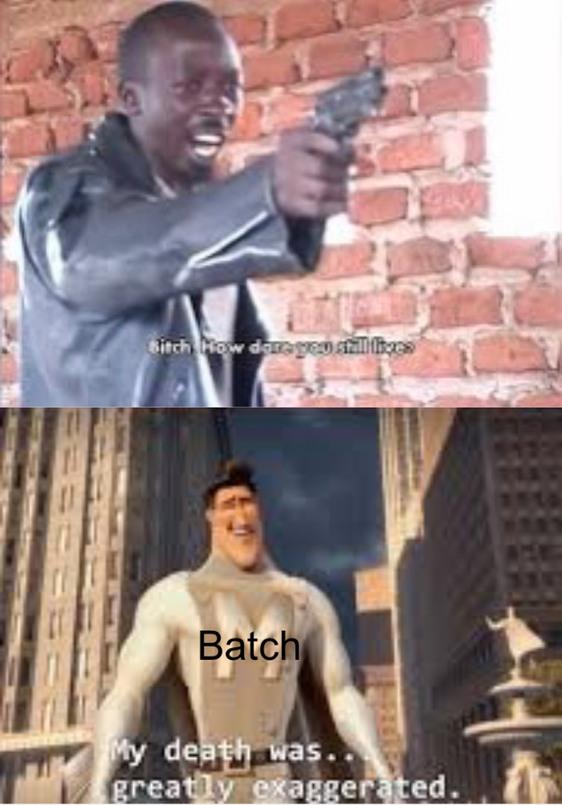 He keeps coming back - meme