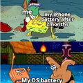 DS do have a lot of battery