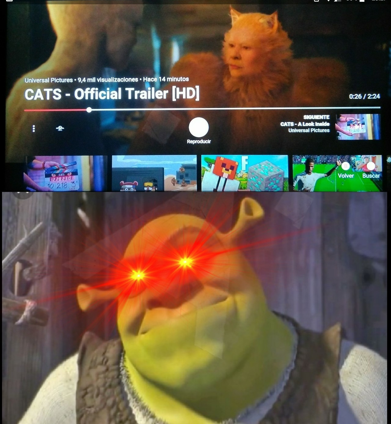 Hola, si? Shrek antifurros? - meme