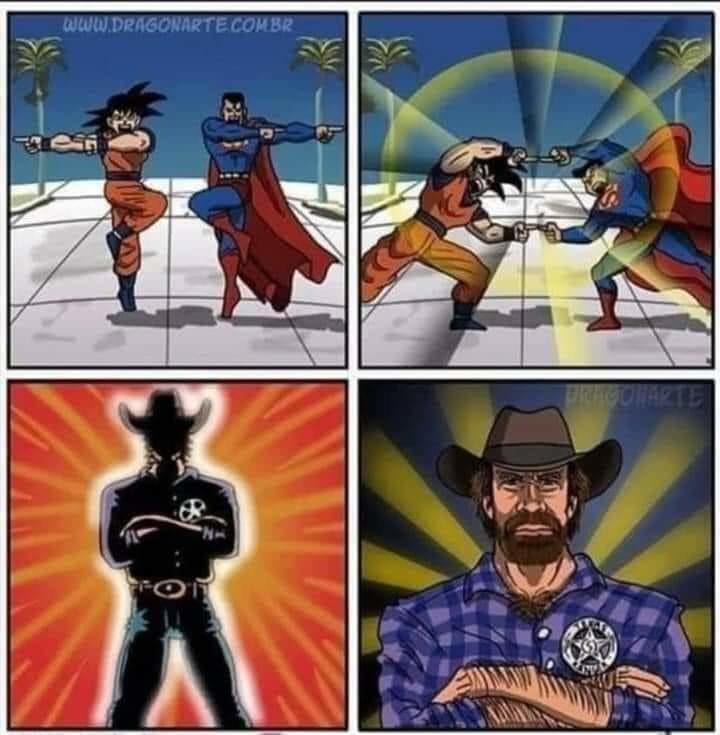 SuperNorris - meme