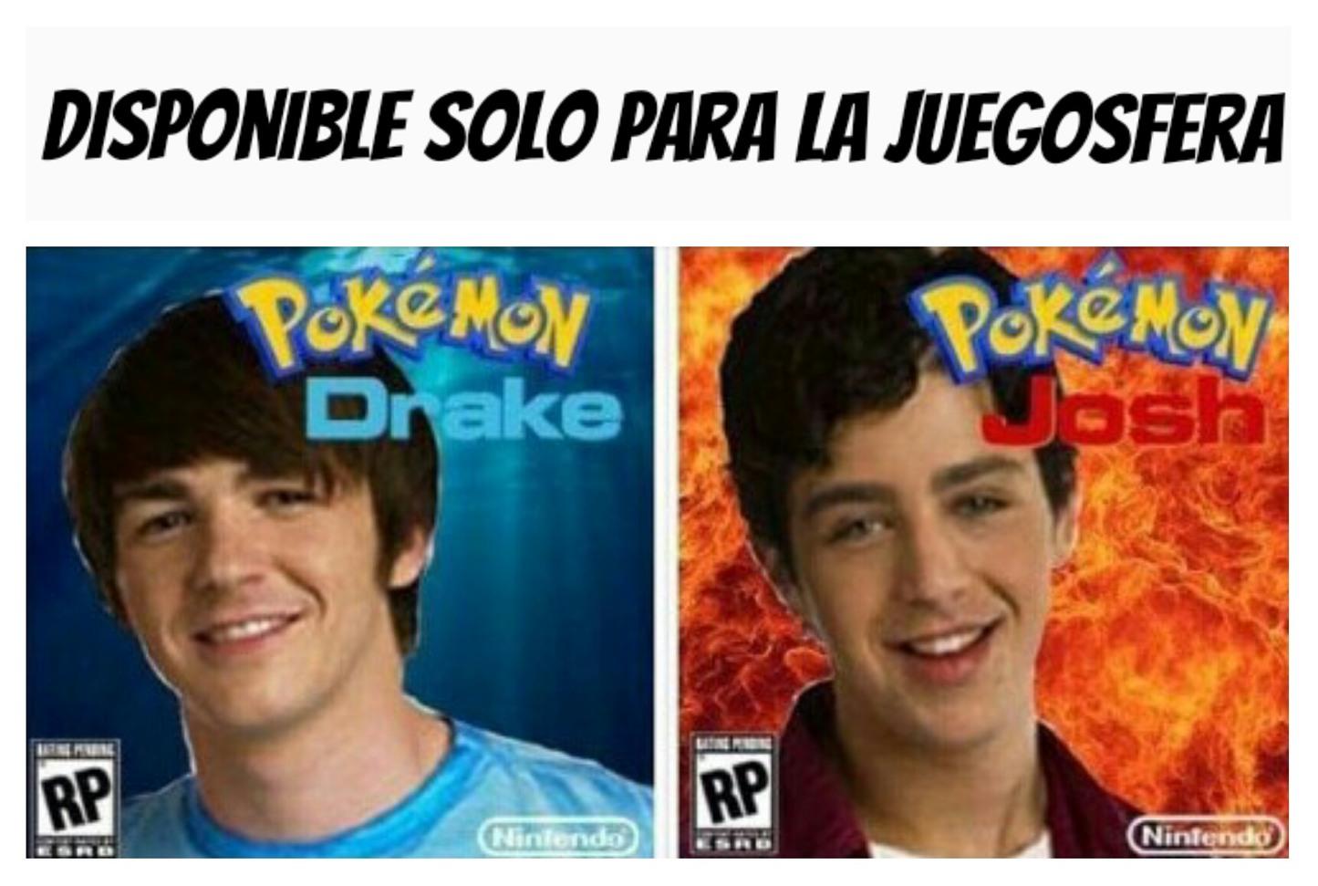 Drake y Solgaleo - meme