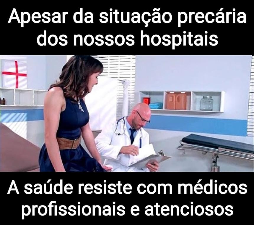 Pra vc não se fuder, respeite os médicos - meme