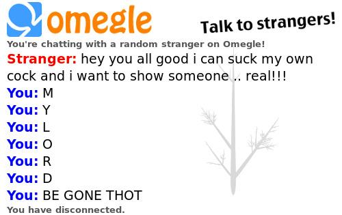 Omegle shit post follow for follow - meme