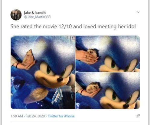 She still isn't as cute as Flowers - meme