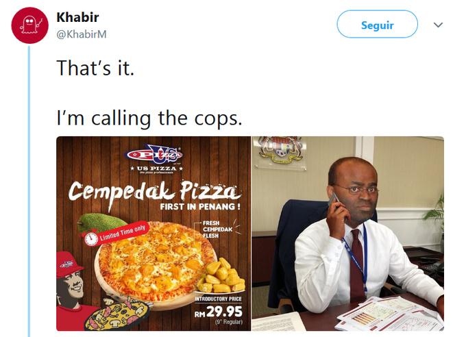 That's it. I'm calling the cops. - meme