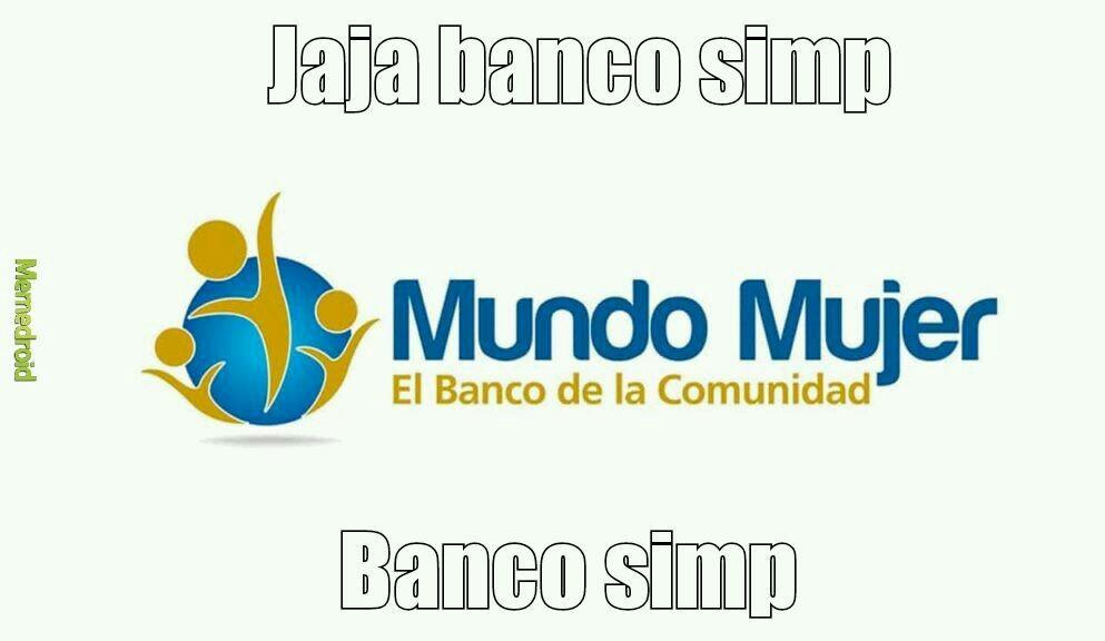 Banco simp - meme