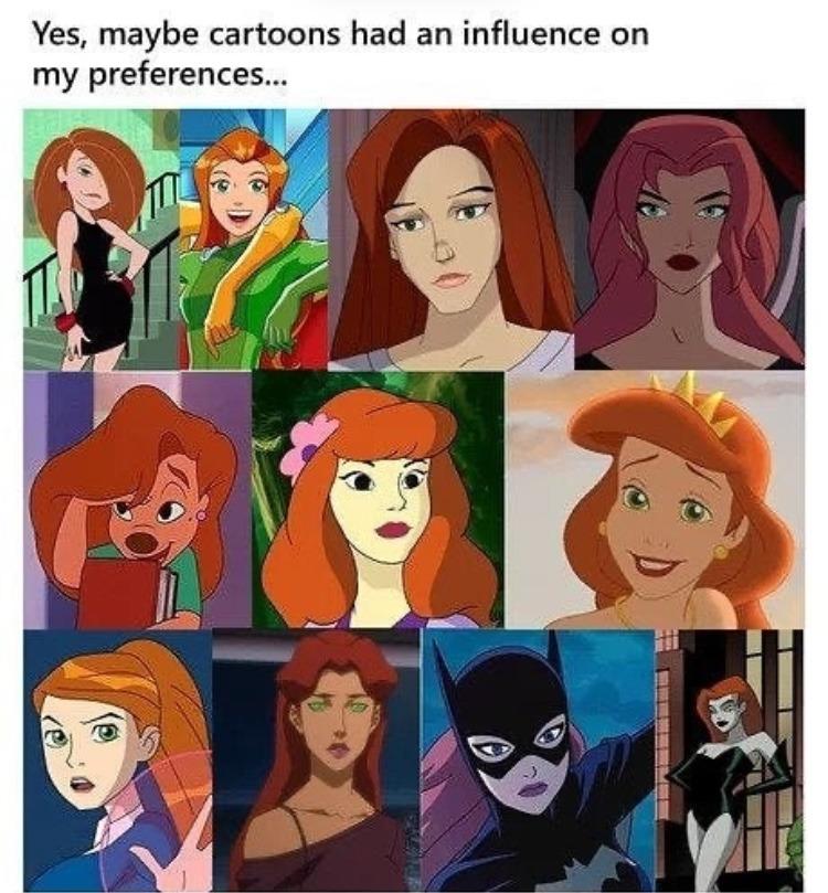 redheads - meme