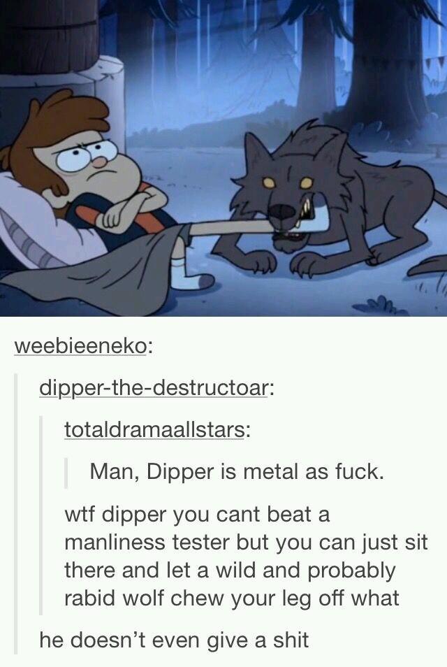 God Dammit Dipper - meme