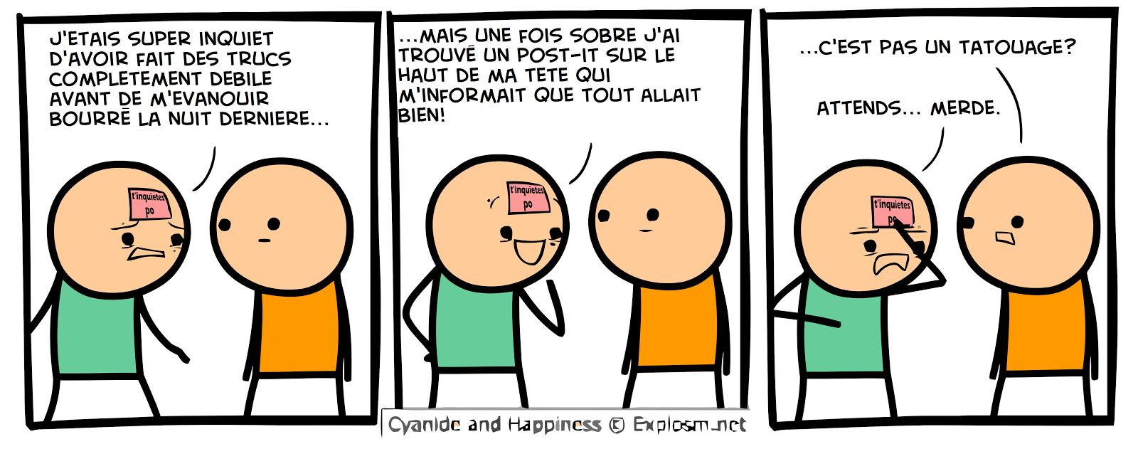 Cyanure et Bonheur #7 - meme