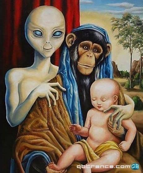 Alien+Mono=Humano - meme