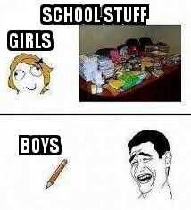 Boys rule - meme
