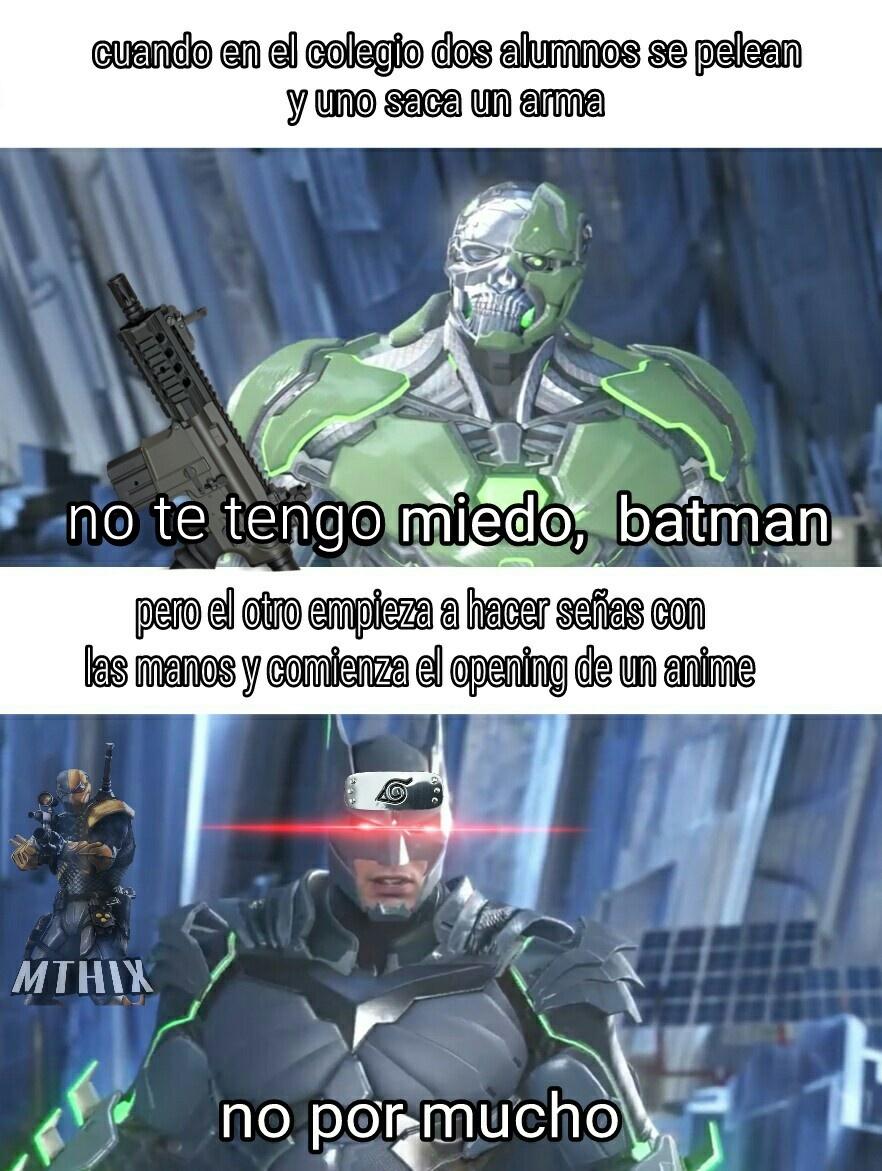 La injusticia parte 2 - meme