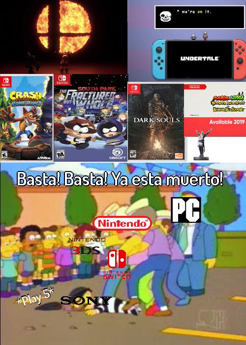 Nintendo direct del 8 de marzo - meme