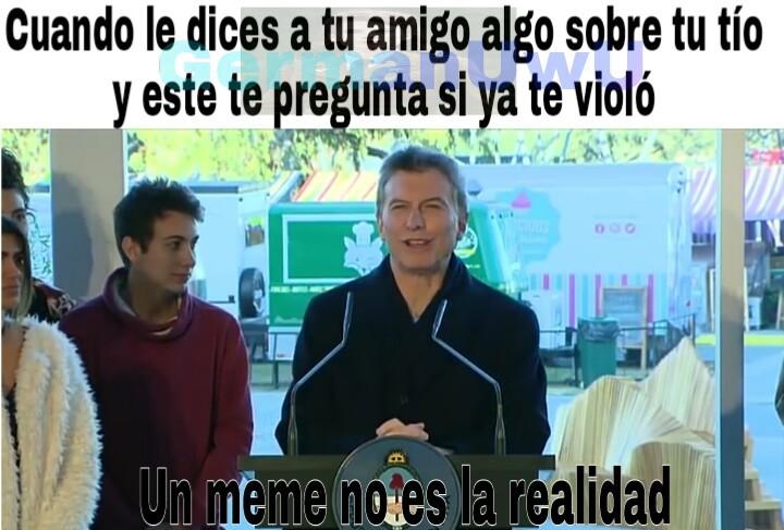 Macri simbionte :^) Plantilla nueva - meme
