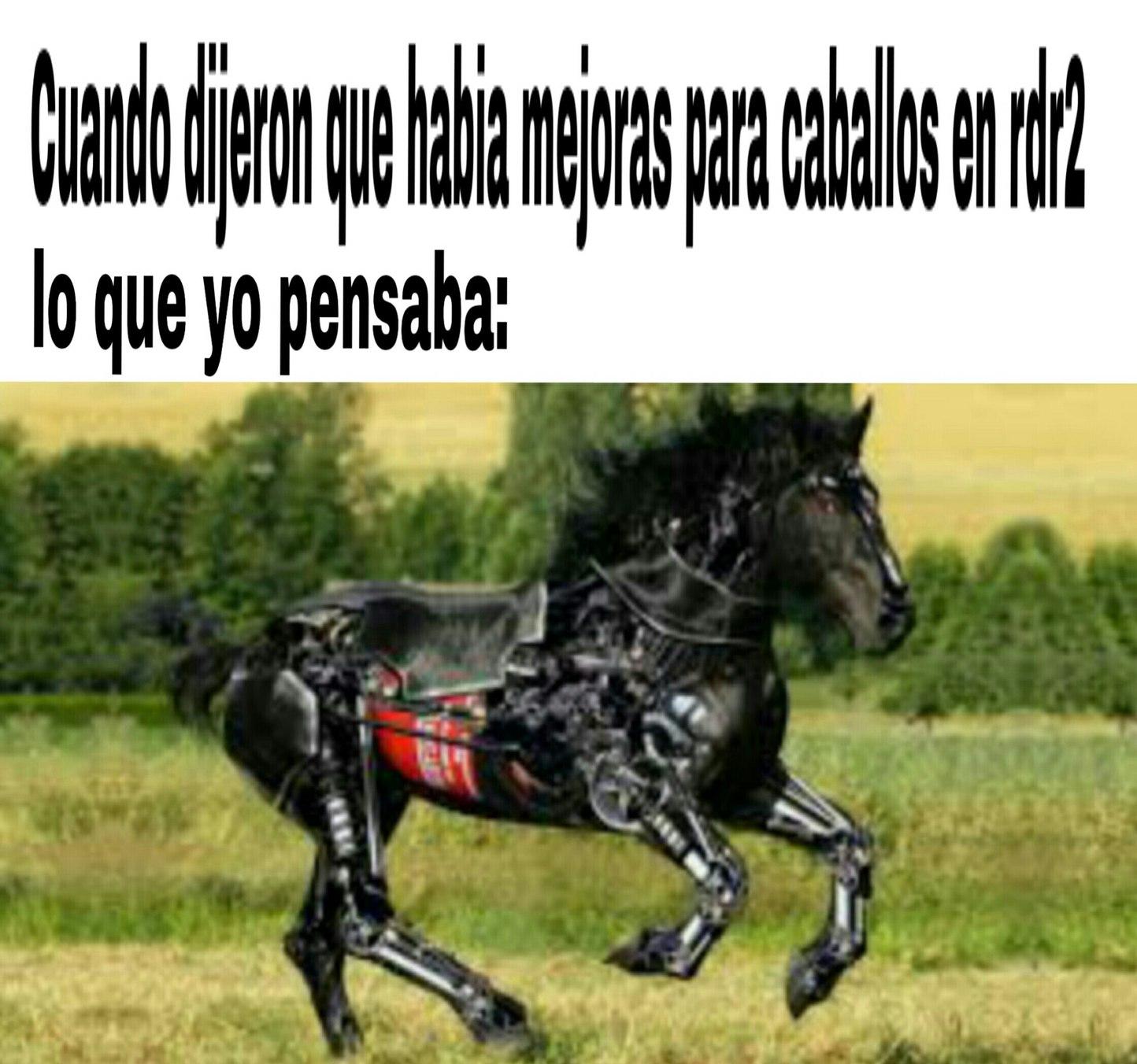 Grand theft horse - meme