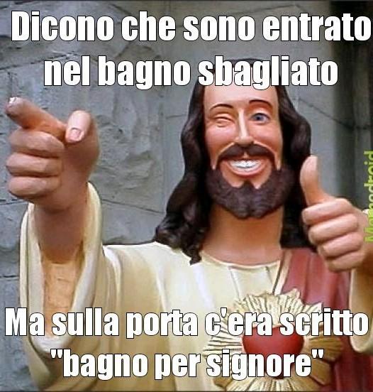 Jesus signore - meme