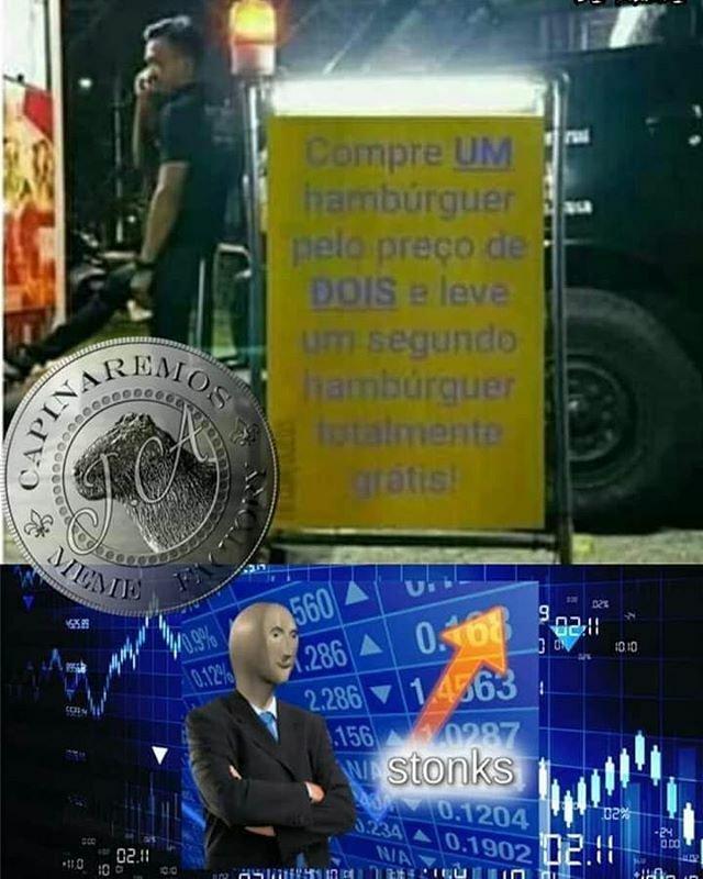 Mestre do Capitalismo - meme