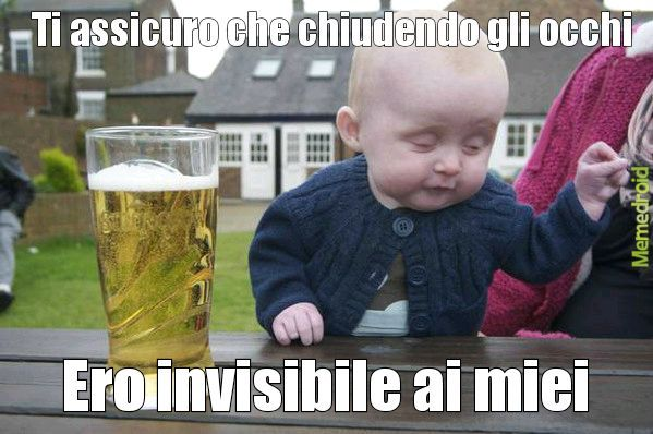 Invisible baby - meme