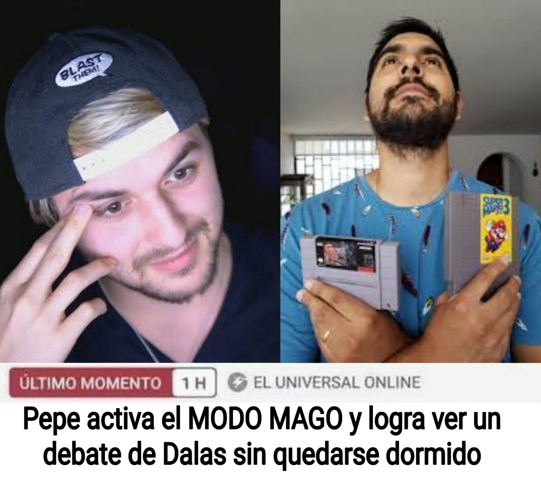 K grande Pepe el Mago - meme