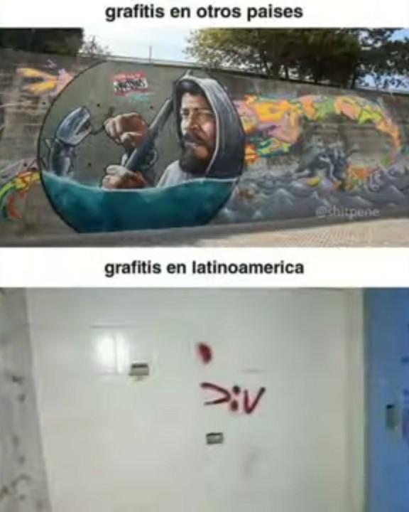 Ni el arte respetan xD - meme