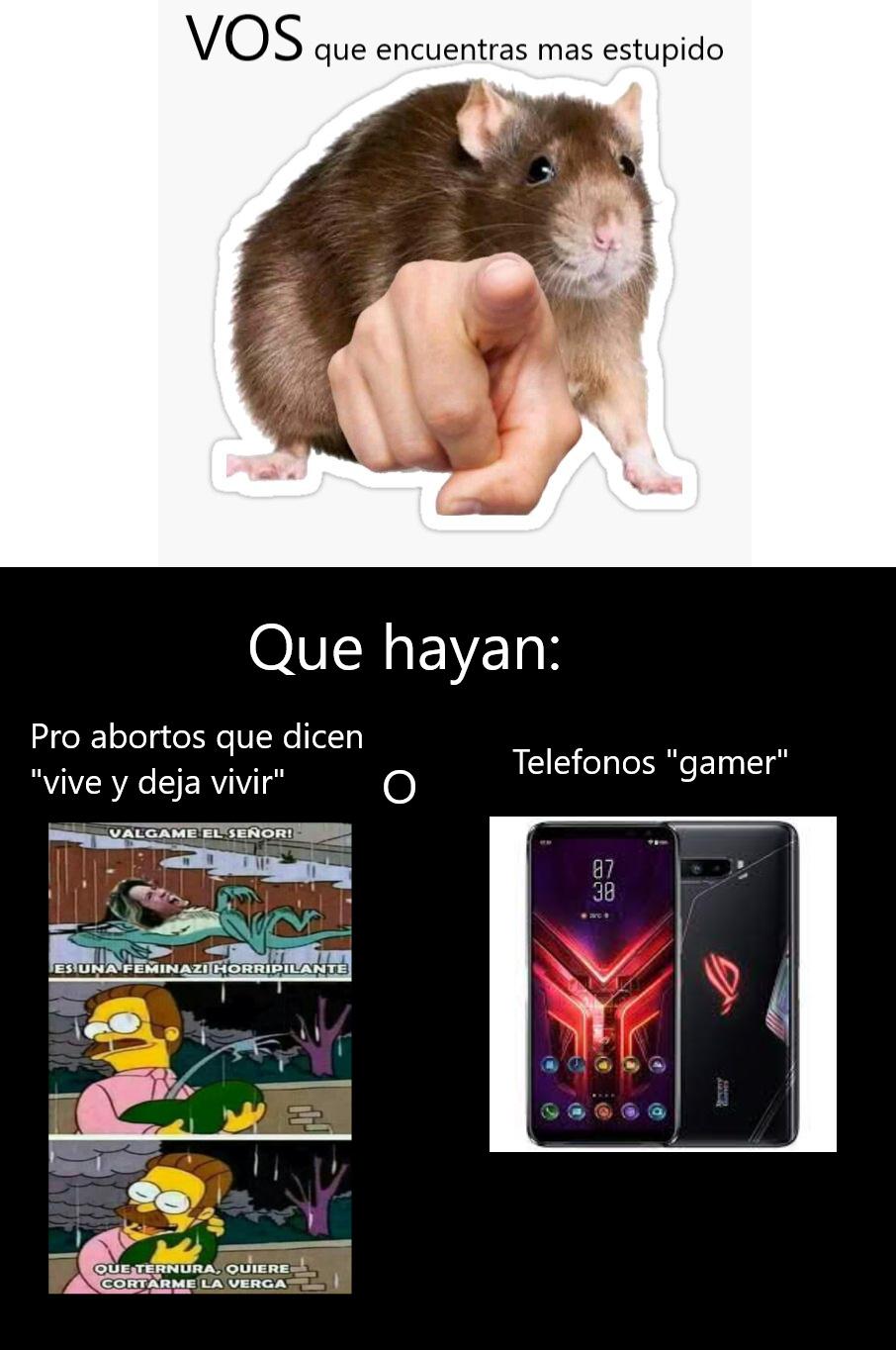 VOS decide - meme