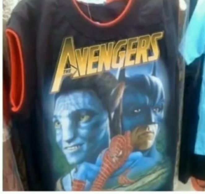 Avengers 4 merchandise leaked - meme