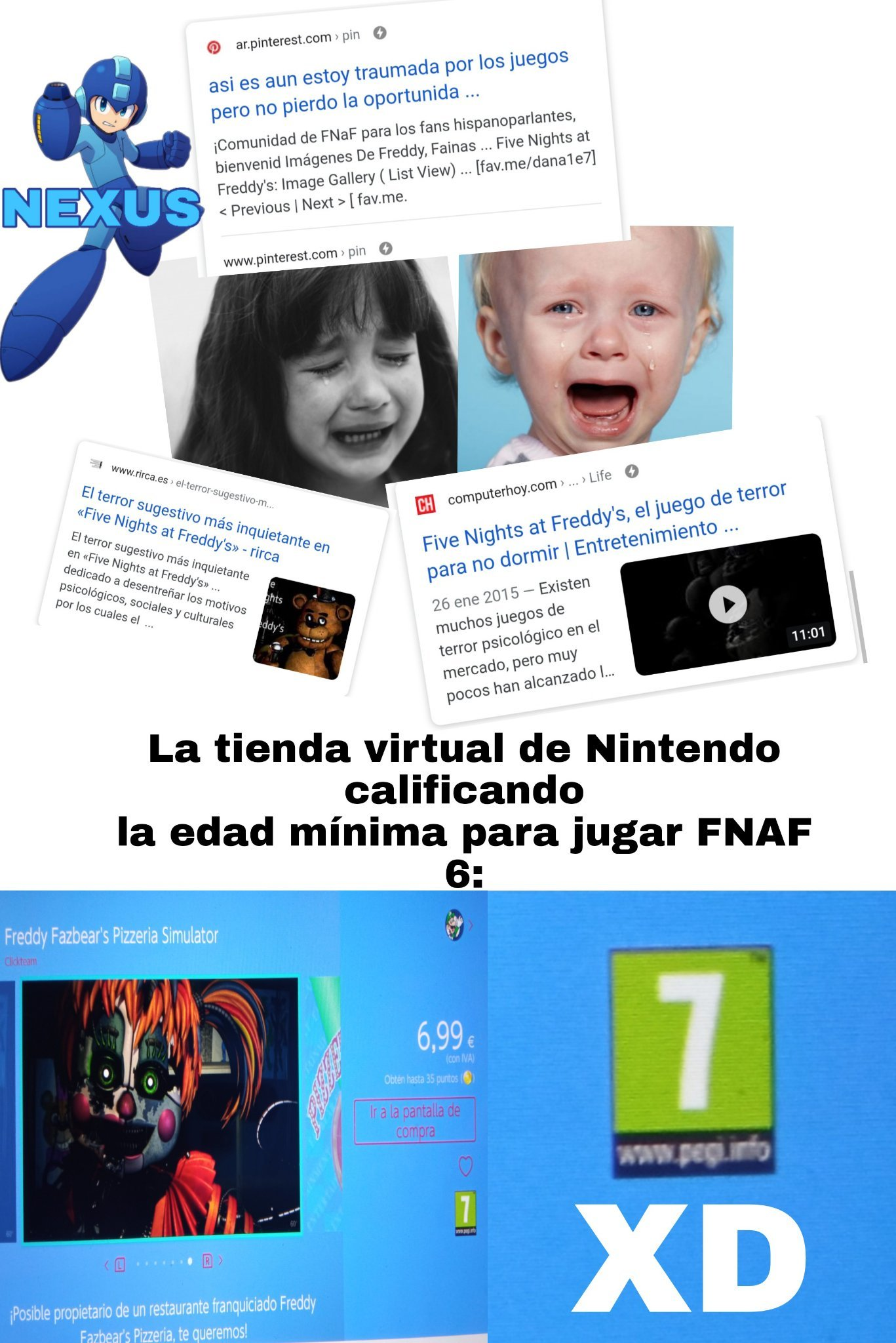 FnaF no da miedo - meme