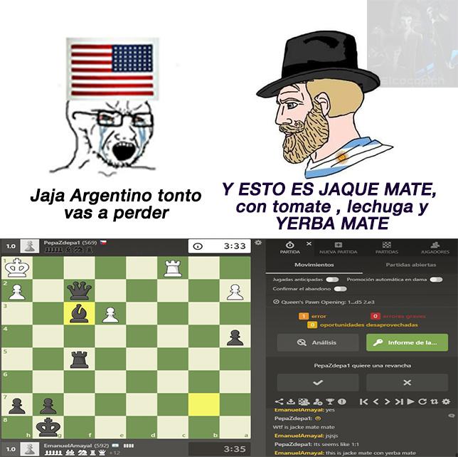que paso master? la pagina para jugar ajedrez es chess - meme