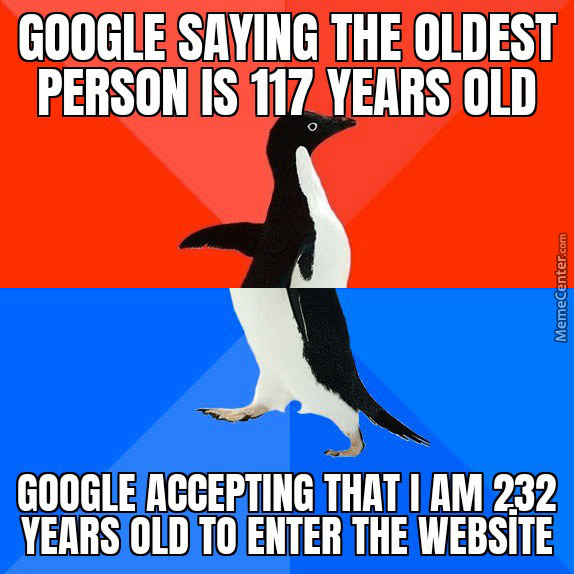 Google logic - meme