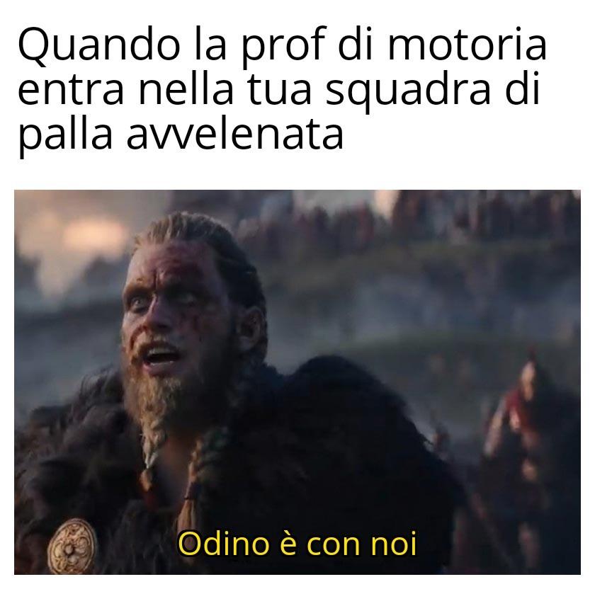ODINO È CON NOI - meme
