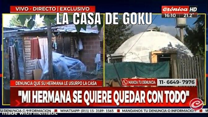 La casa de goku es real :0 - meme