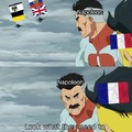 Only took Europe 6 Coalitions to stop revolutionary man