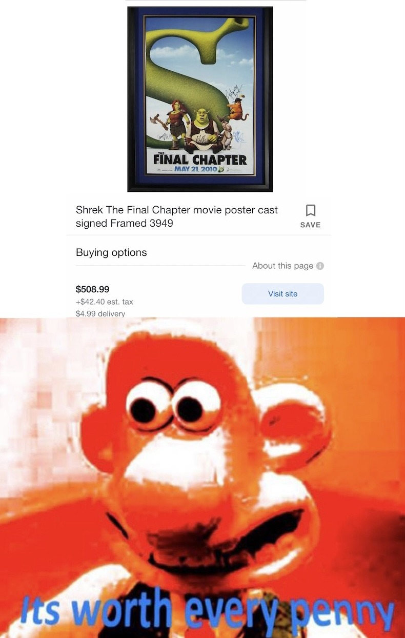 Worth every penny - meme