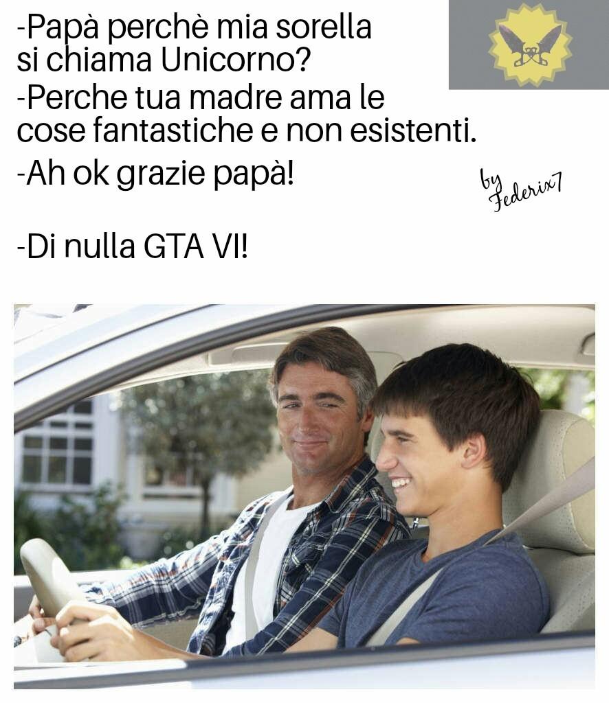 GTA VI sogno irrealizzabile - meme