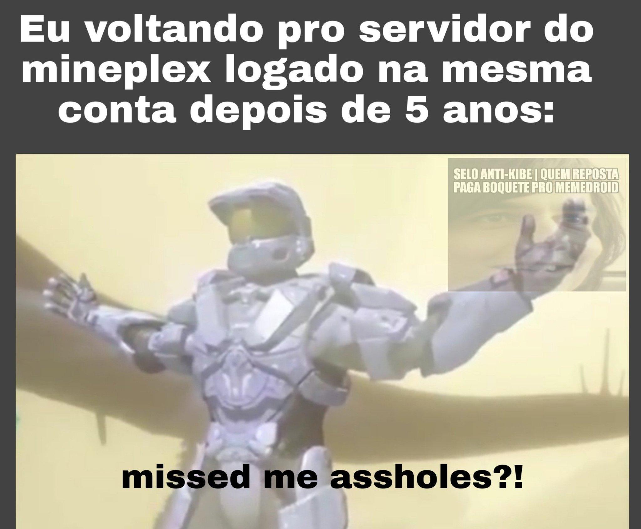 Halo é muito bom, vai se fuder - meme