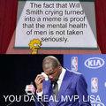 Lisa's the MVP