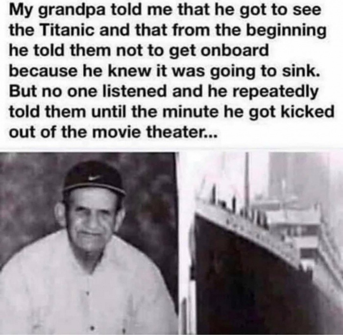 Grandpa - meme