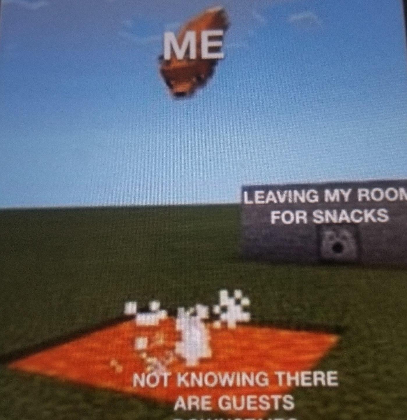 Hate it when this happens - meme