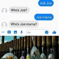 Joe mama who?