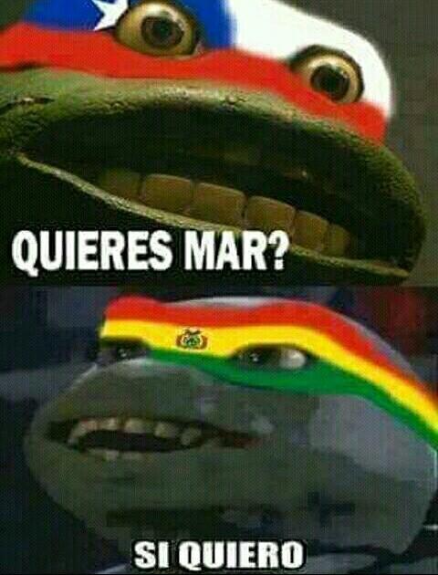 Boliviano esta confundido,boliviano se a echo daño - meme