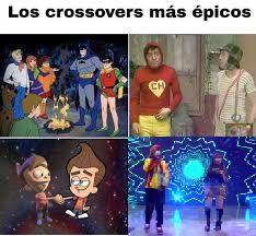 . _. crossover , _. - meme