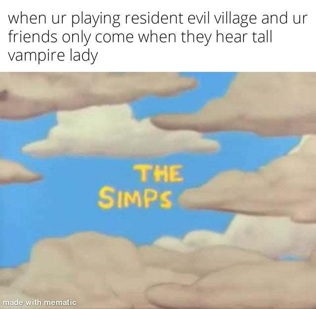 When the Simp is susus sus! sus - meme