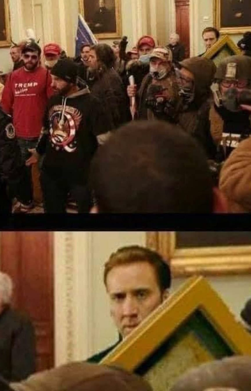 National treasure was a great movie - meme