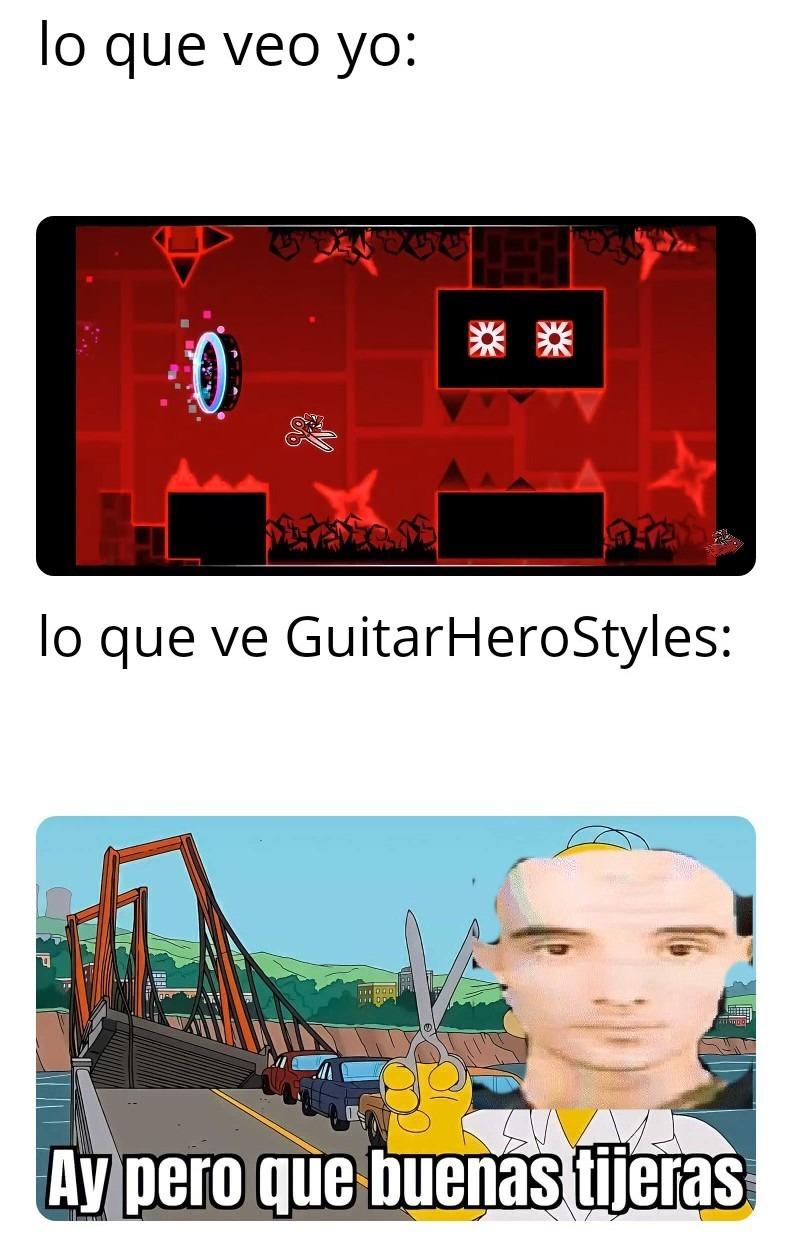 Guitar calvo - meme