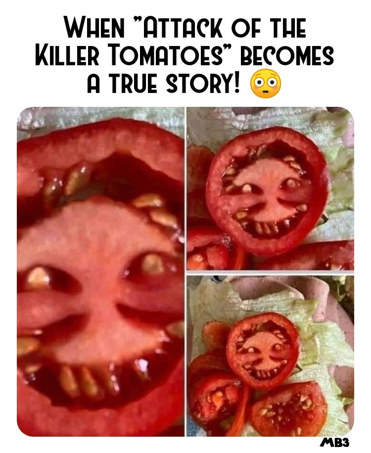 Attack of Tomatoes!!! - meme