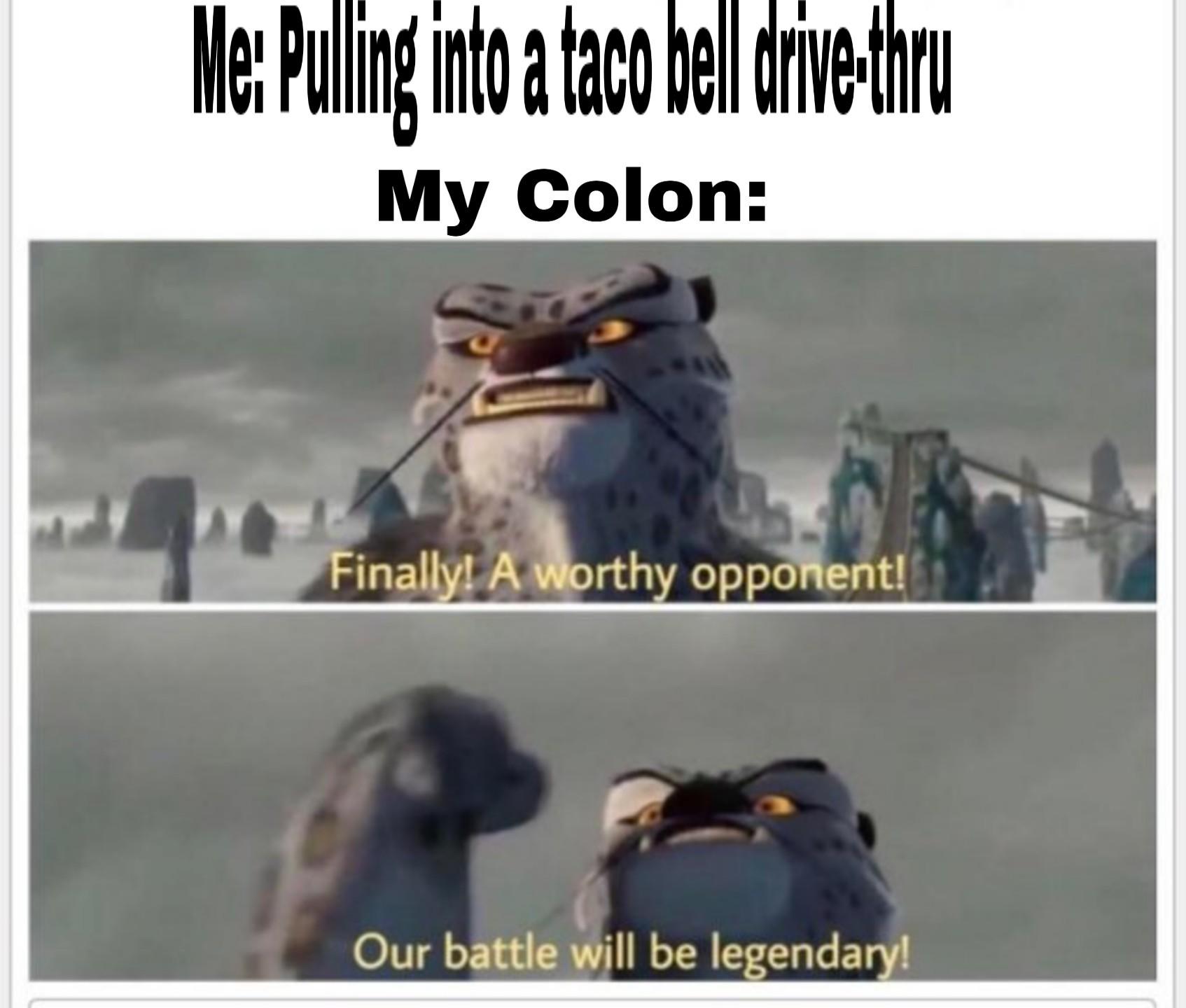 Worthy opponent 2 - meme